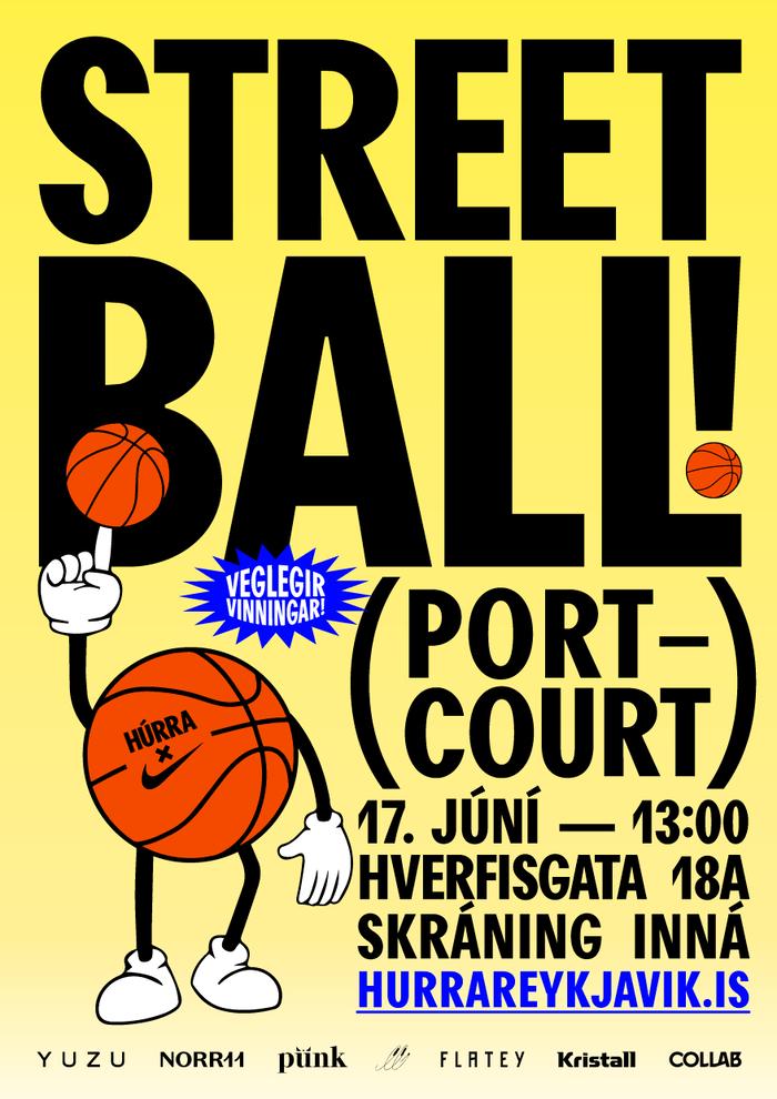 Streetball Húrra Reykjavík 2