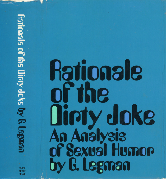 Rationale of the Dirty Joke by Gershon Legman 2