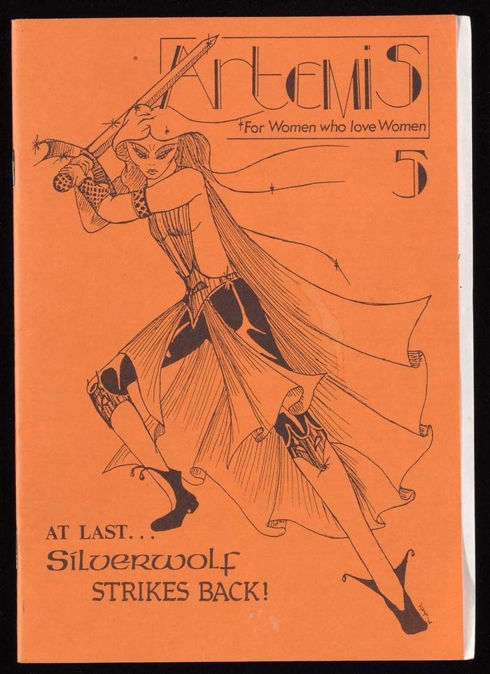 Cover of the zine Artemis, issue 5