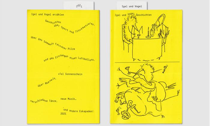 Igel und Vogel Geschichten children's book 1