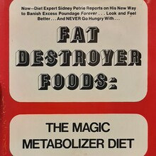 <cite>Fat Destroyer Foods</cite> by Sidney Petrie