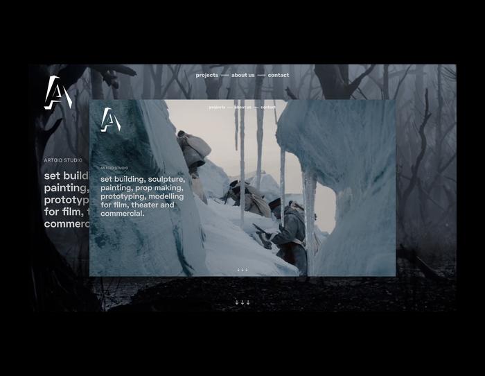 Artoid Studio branding and website 1