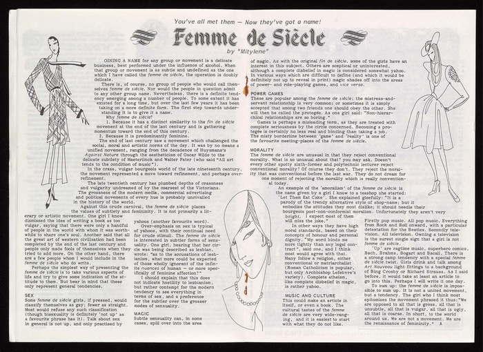 Spread with a headline in  (Letraset, 1978).
