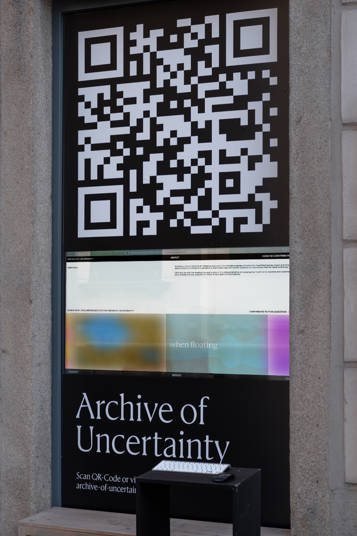 Archive of Uncertainty website 6