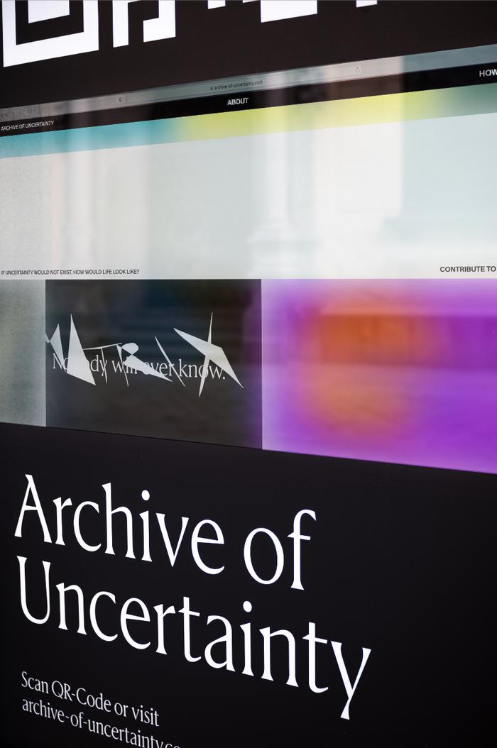 Archive of Uncertainty website 3
