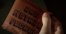 Jules Winnfield's wallet in <cite>Pulp Fiction</cite>