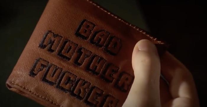 Jules Winnfield's wallet in Pulp Fiction