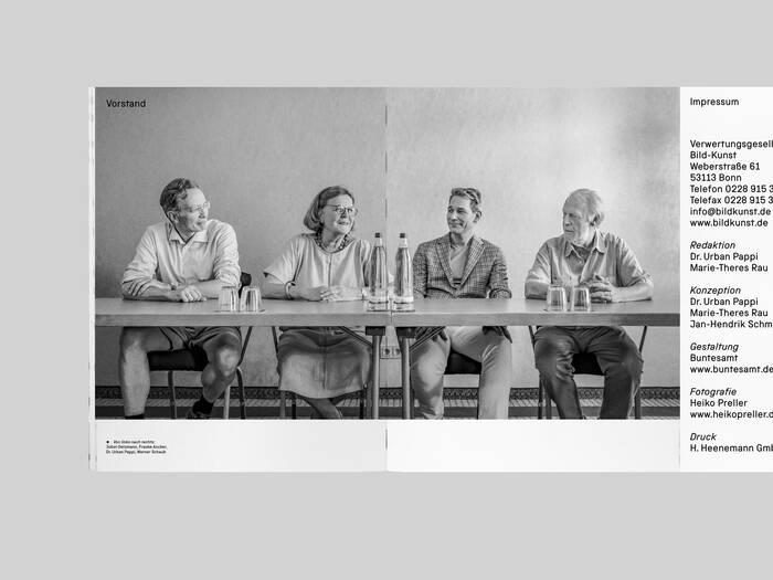 VG Bild-Kunst copyright association brochure 6