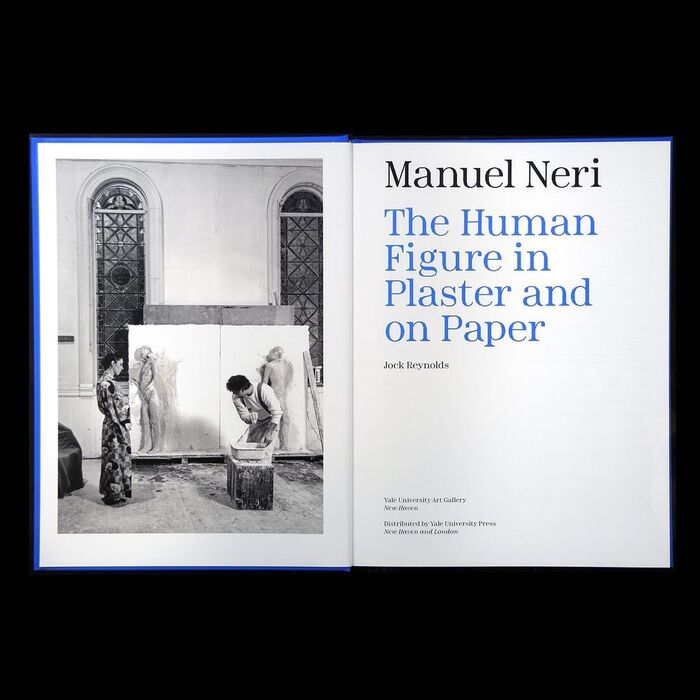 Manuel Neri: The Human Figure in Plaster and on Paper exhibition catalog 3