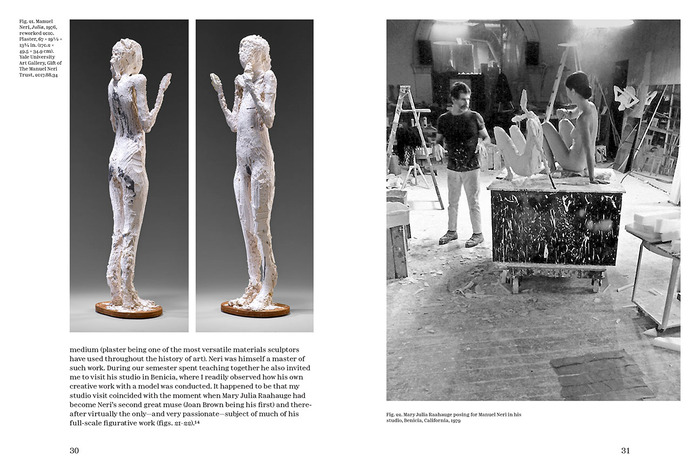 Manuel Neri: The Human Figure in Plaster and on Paper exhibition catalog 6