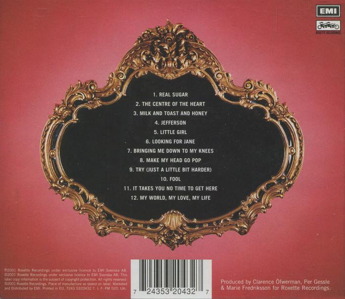 Roxette – Room Service album art 2