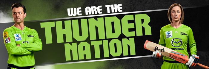 Sydney Thunder website and social media 1