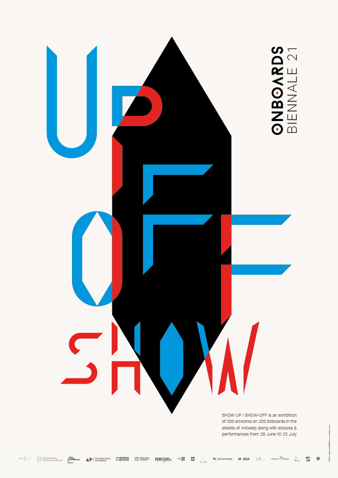 Show Up/Show-Off exhibition posters 3