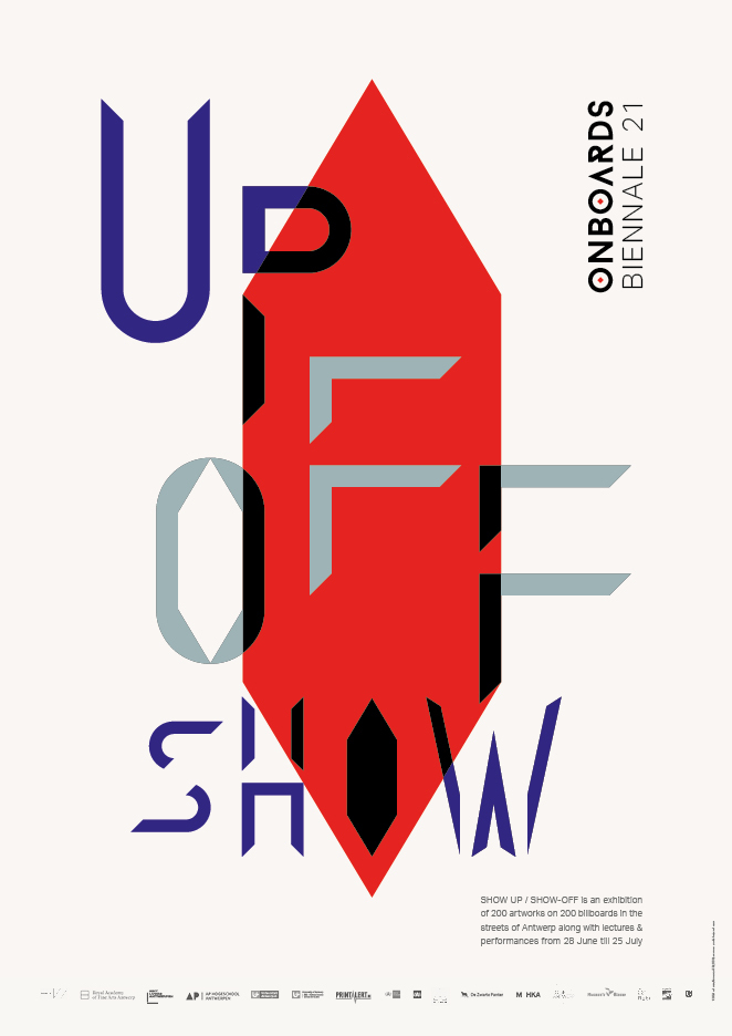 Show Up/Show-Off exhibition posters 4