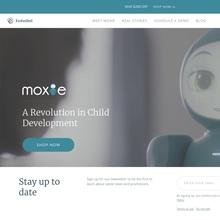 Moxie robot website