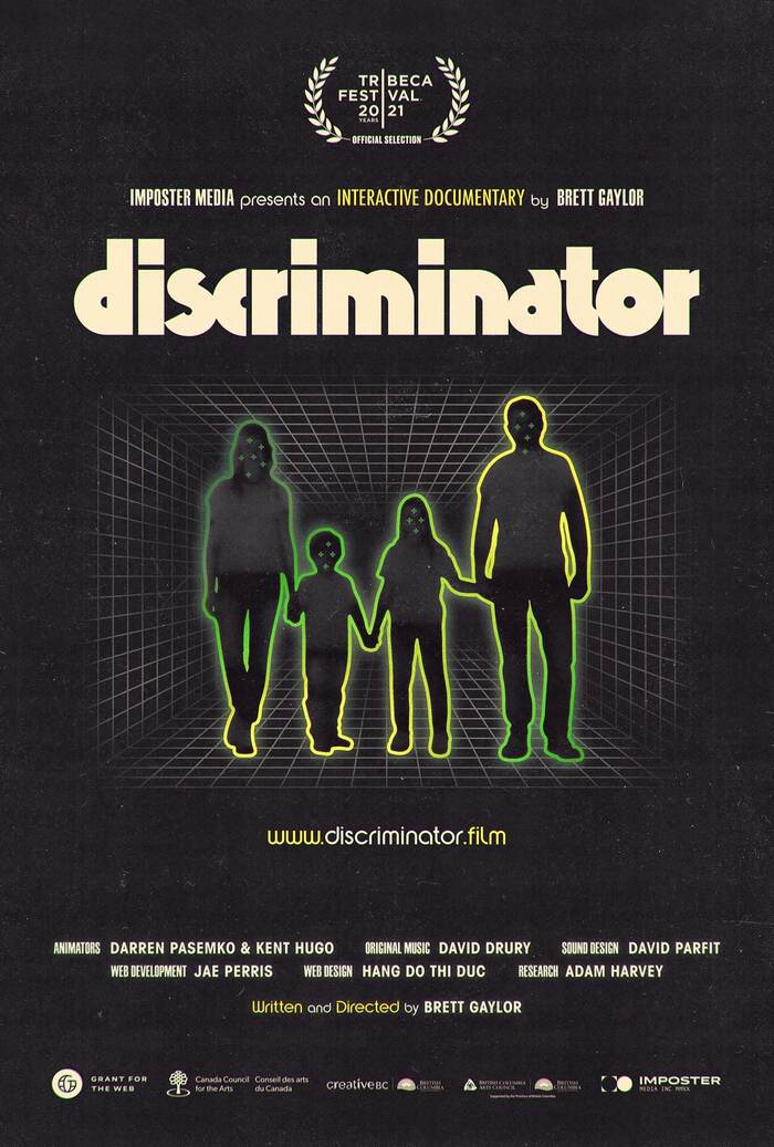 Discriminator (2021) movie poster