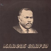 Sonia Pottinger – <cite>Marcus Garvey</cite> album art