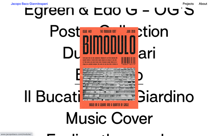 Jacopo Baco Giannitrapani website 3