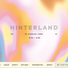 Hinterland Music Festival website