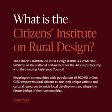 Citizens' Institute on Rural Design website
