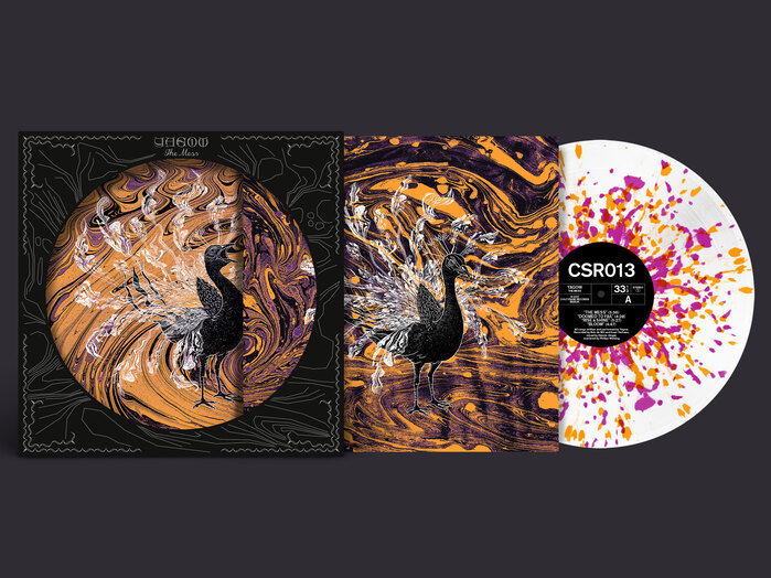 """The Mess, the complete story: cover, innersleeve and """"peacock"""" edition record"""