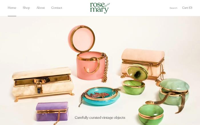 Rosemary Home website 1