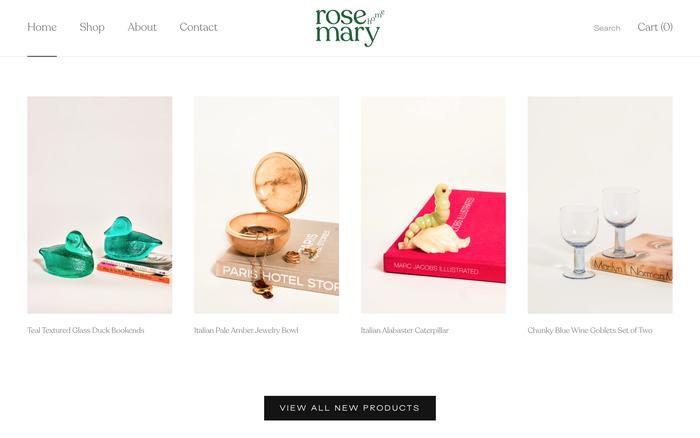 Rosemary Home website 2