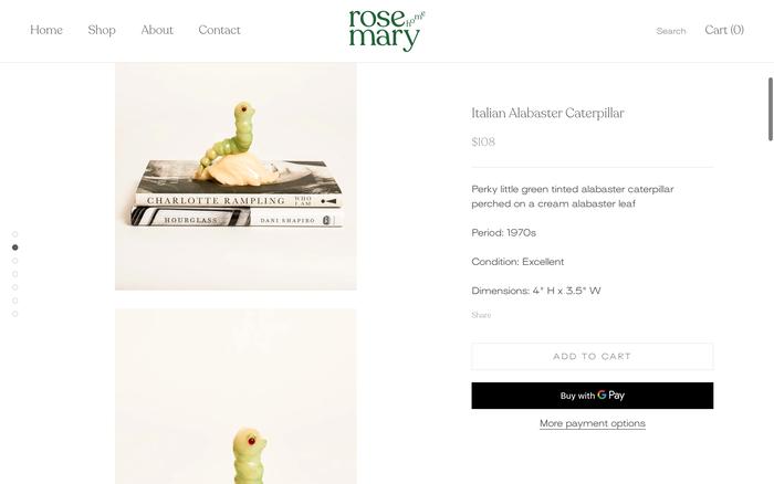 Rosemary Home website 3