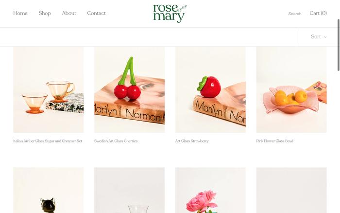 Rosemary Home website 4