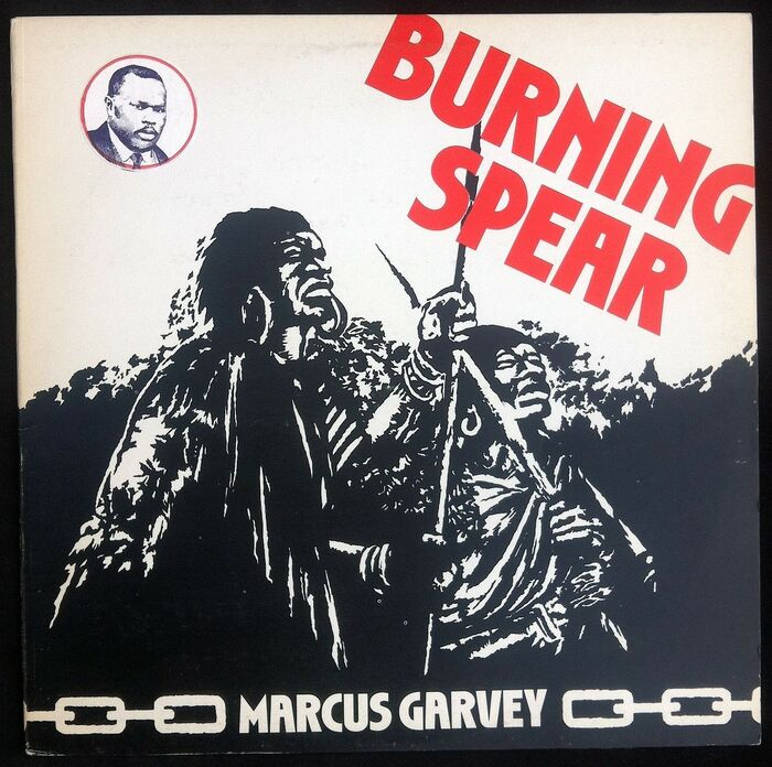 UK Edition (1975), with the addition of a portrait of Marcus Garvey.
