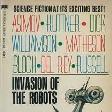 <cite>Invasion of the Robots</cite> by Roger Elwood (ed.)