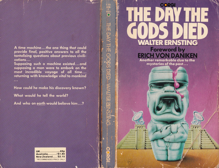 The Day the Gods Died by Walter Ernsting (Corgi) 1