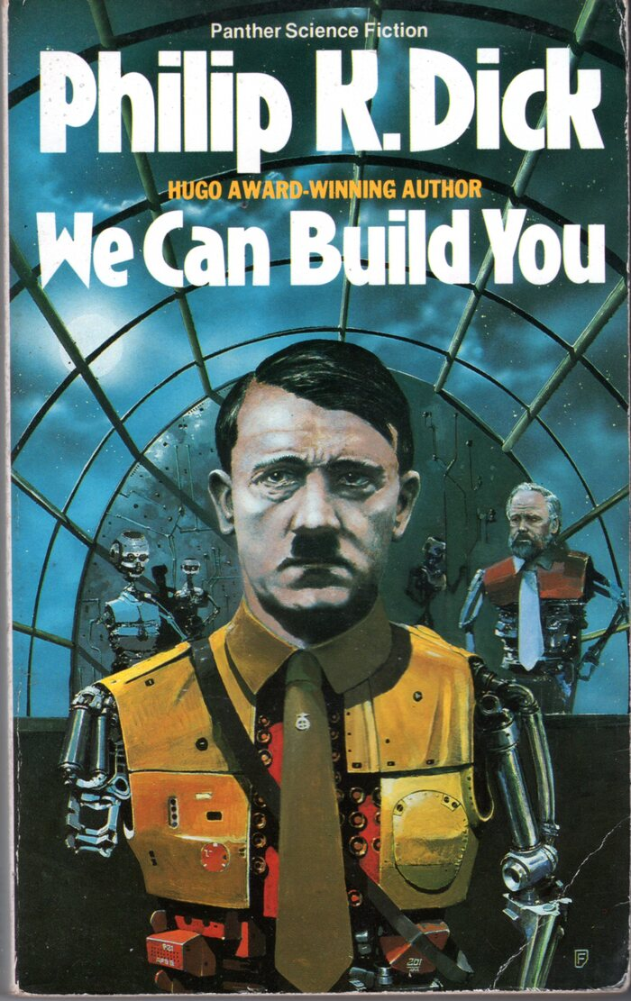 We Can Build You (1986, reprinted 1988). Cover art by Chris Foss. [More info on ISFDB]