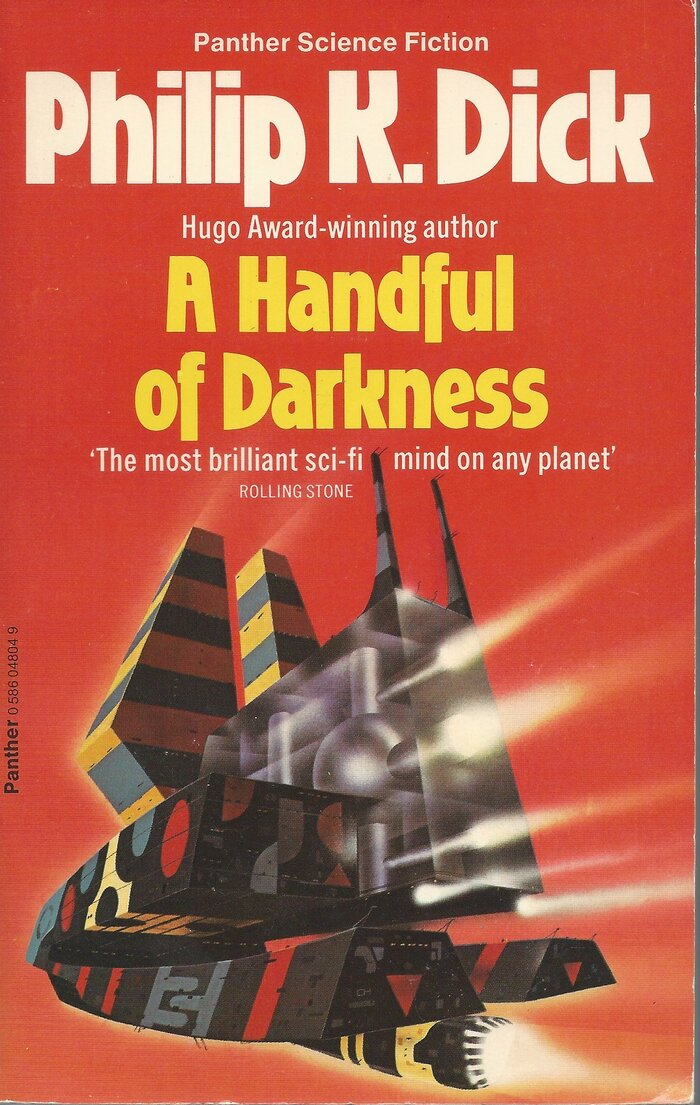 A Handful of Darkness (1980). Cover art by Colin Hay. [More info on ISFDB]
