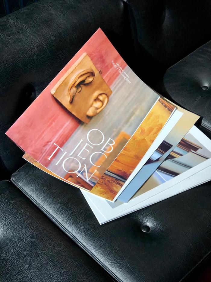 Objection magazine, Volume I: The Living Room 1