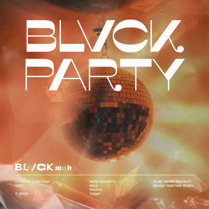 "Blvck Mob – ""Blvck Party"" cover art"