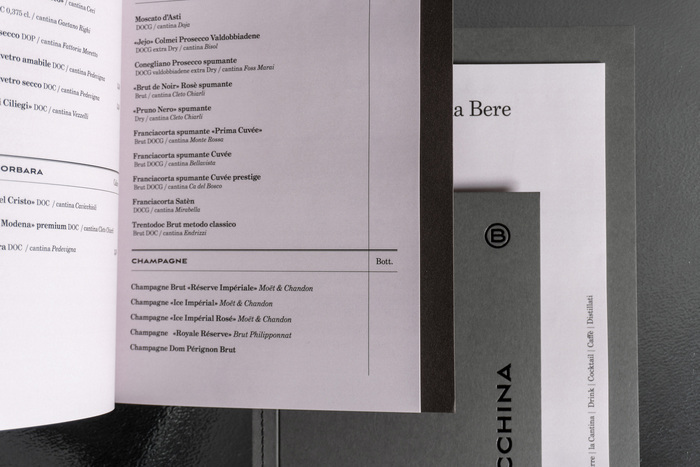 La Baracchina menu 5
