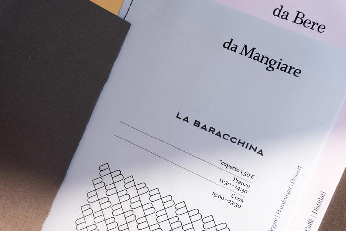 La Baracchina menu 3