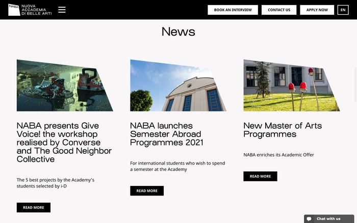 Nueva Accademia di Belle Arti (NABA) 4