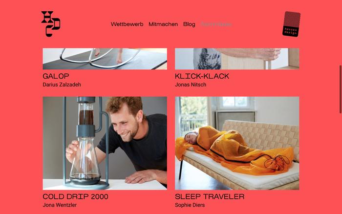 Hessen Design Competition website (2020) 5