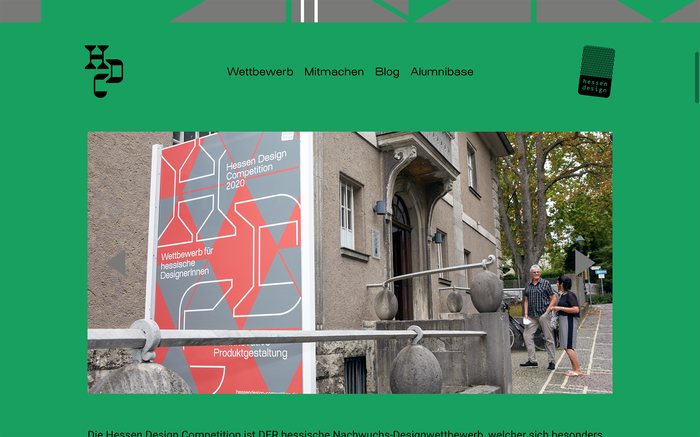 Hessen Design Competition website (2020) 2