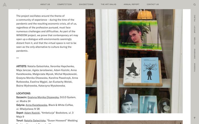Hestia Artistic Journey website 4