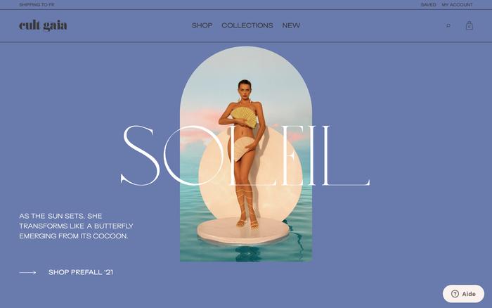 Cult Gaia website 1