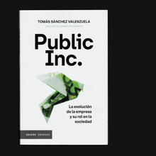 <cite>Public Inc.</cite> by Tomás Sánchez Valenzuela