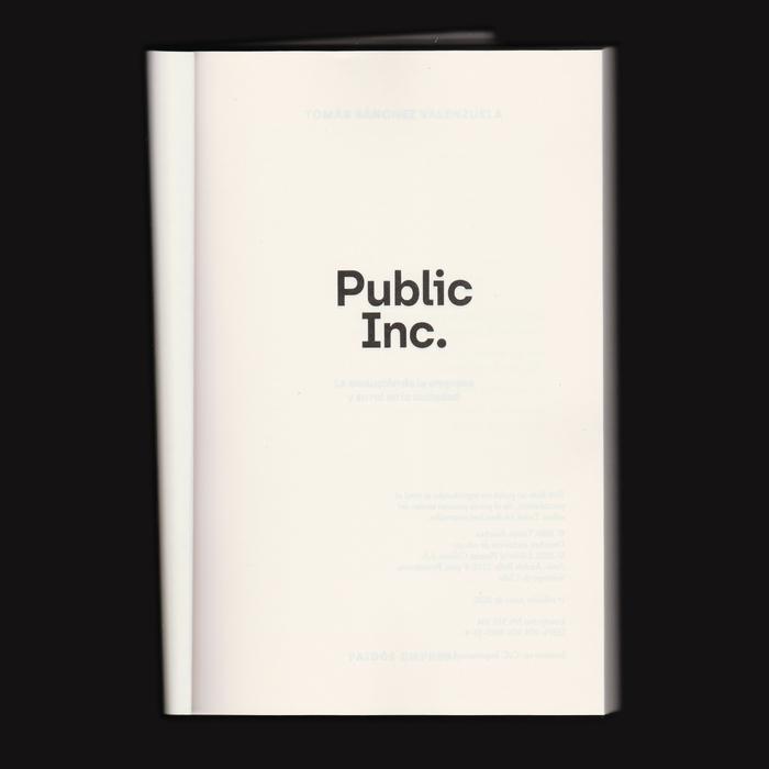 Public Inc. by Tomás Sánchez Valenzuela 2