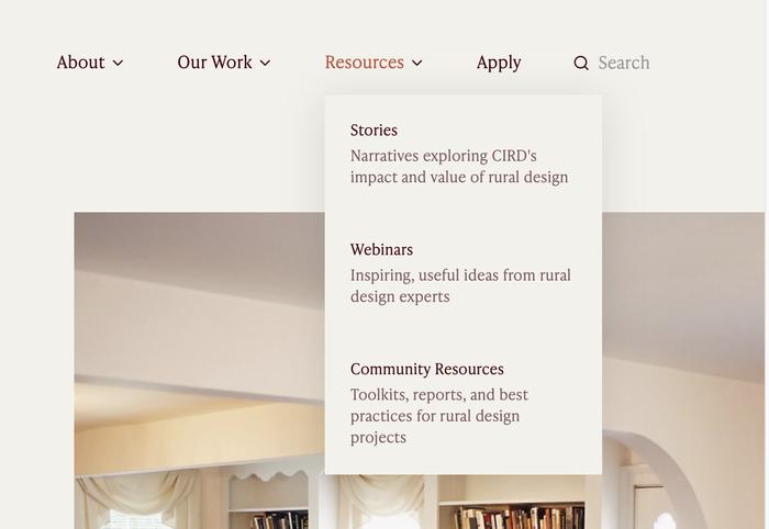 Citizens' Institute on Rural Design website 6