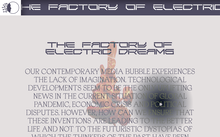 <cite>The Factory of Electric Dreams</cite> exhibition website