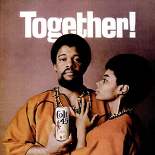 """""""Together!"""" ad for Colt 45 (1969)"""