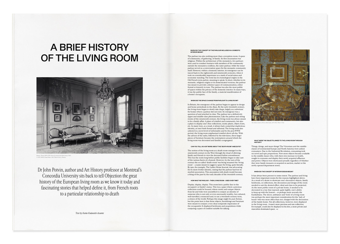 Objection magazine, Volume I: The Living Room 4