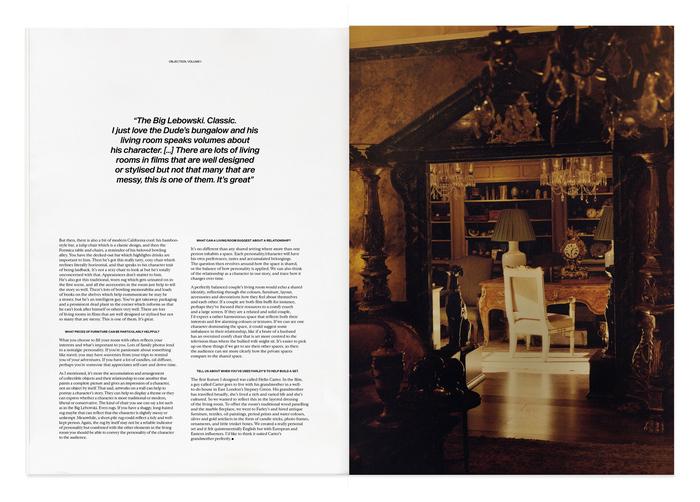 Objection magazine, Volume I: The Living Room 6